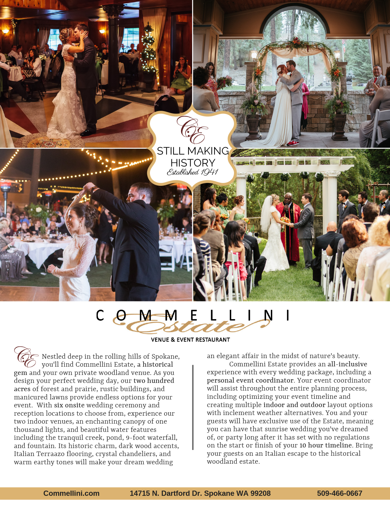 Commellini Estate WRG Ad 2019 WEB