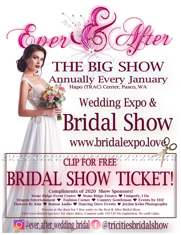 Tricities Bridal Show 2020 WRG